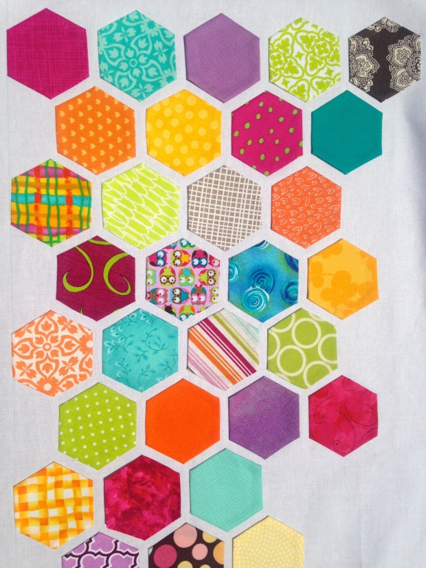 Scrappy Hexagon Quilt