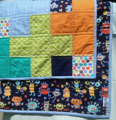 Plus Details on the Monster Quilt