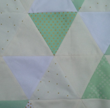 WIP Triangle Quilt