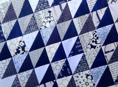 HST Navy Blue Quilt