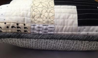 Black and White Plus Pillow