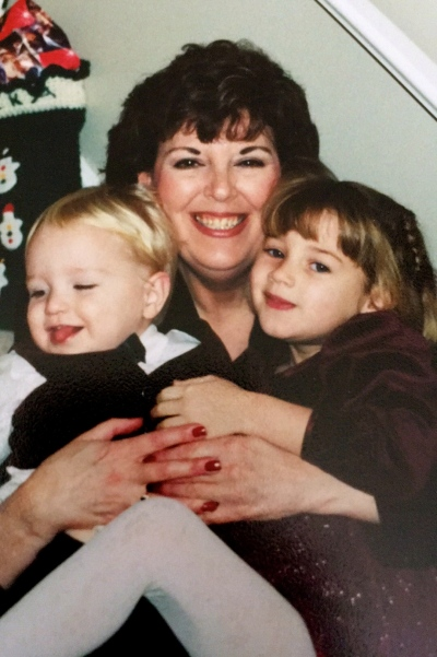 This is one of my favorite pic of my mom with my kids. Circa 1999