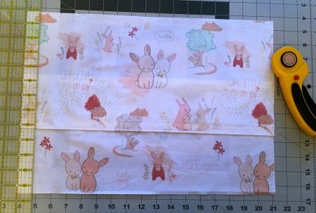 Custom Little Bunny Pillow Cover