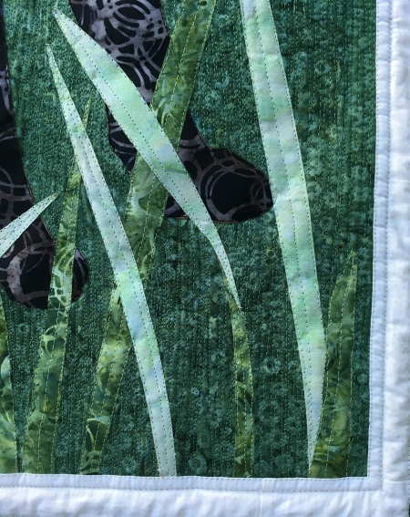 Free Motion Quilting on The Fabulous Fox Quilt